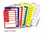 Kleer-Bak Stock Stickers - Product Image
