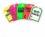 "Custom Mirror Hang Tags 8 1/2"" x 11 1/2"" - BLACK ONLY IMPRINT - Product Image"