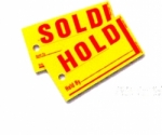 Mini Sold / Hold Tags - Product Image