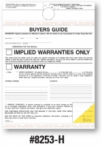 2-Part Buyers Guide - Implied Warranty - Mirror Hang and Adhesive Top and Bottom - 2017 Version - Product Image