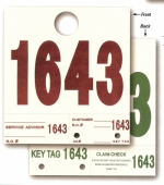Heavy Stock Side Padded Dispatch Numbers - Product Image