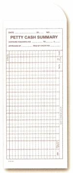 Petty Cash Envelope - Form #DSA-230 - Product Image