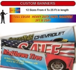 Custom Banners - 3ft x 15ft - Product Image