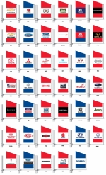 Standard Spacewalker Authorized Dealer Flags - 3 1/2 ft x 5 1/2 ft - Product Image