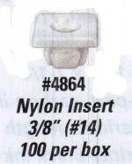 """Nylon Inserts - 3/8"""" (#14) - Product Image"""
