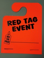 OVERSTOCK SALE RED TAG EVENT Mirror Tags - Product Image