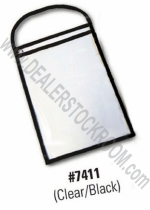 Repair Order / Work Ticket Holder - Clear/Black - Product Image