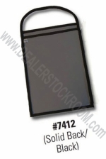 Repair Order / Work Ticket Holder - Black/Clear/Black Back - Product Image