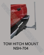 Tow Hitch Mount Base for Swooper Flags - Product Image