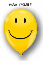 V-T Actives 17in Smiley Face Balloons - Product Image