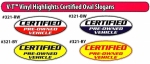 Certified Ovals - Product Image