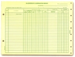 Salesperson's Compensation Report - Form #DSA-231N - Product Image