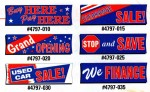 3 Ft x 10 Ft Stock Message Banners - Product Image