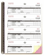 Non-Imprinted Fuel Purchase Order Books - Form #NC-124-3-Fuel - Product Image