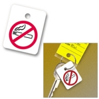 No Smoking Key Fob - Pkg of 100 - Product Image