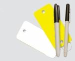 Blank Poly Tag Key Tags - Pkg 250 Per Box - Product Image