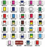 Color Coded Auto Makes - Ringbooks of 270 - Product Image