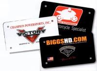 Custom Dealer Plates
