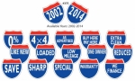 "Interstate Sign Slogans 8 1/2"" x 8 1/2"" - Product Image"
