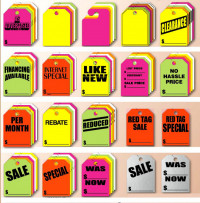 "Mirror Hang Tags 8 1/2"" x 11 1/2"" - Product Image"