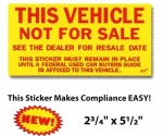 Not For Sale Sticker - Product Image