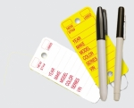 Poly Tag Key Tags - Printed - Pkg 250 Per Box - Product Image