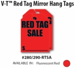 RED TAG SALE Mirror Tags - Product Image