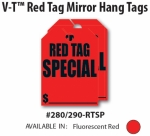 RED TAG SPECIAL Mirror Tags - Product Image