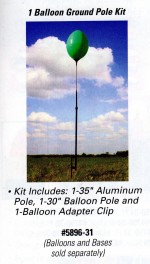 Reusable Balloon Ground Pole Kit for 1 Balloon - Product Image