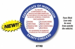 Round Inspection Stickers (100/Pack) - Product Image