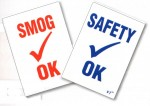Smog/Safety Inspection Stickers (100/Pack) - Product Image