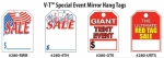 "Special Event Mirror Hang Tags 8 1/2"" x 11 1/2"" - Product Image"