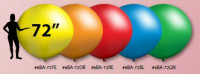 V-T Actives 72in Balloons - Product Image