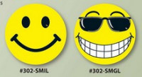 Vinyl Smiley Faces - Product Image