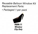 Window Clip Replacement for Reusable Balloon Window Holder Kits - Product Image